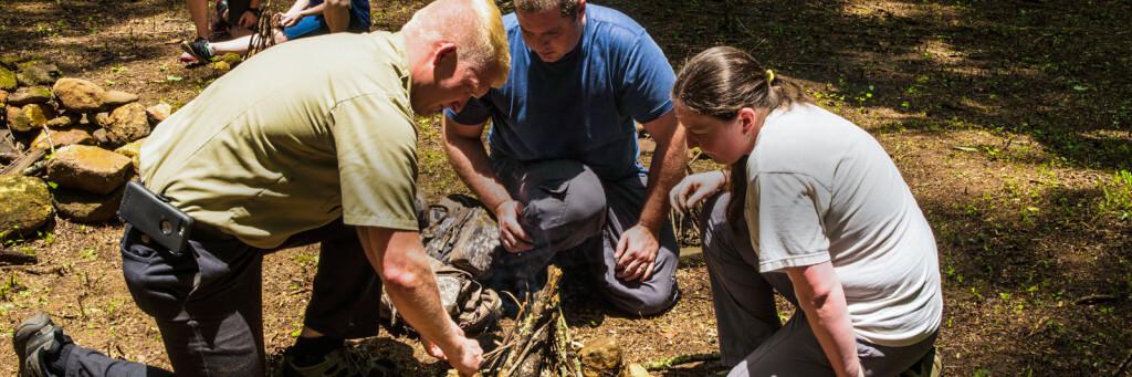 Amicalola Falls Adventure Lodge Adventures Survivalist Camp 1