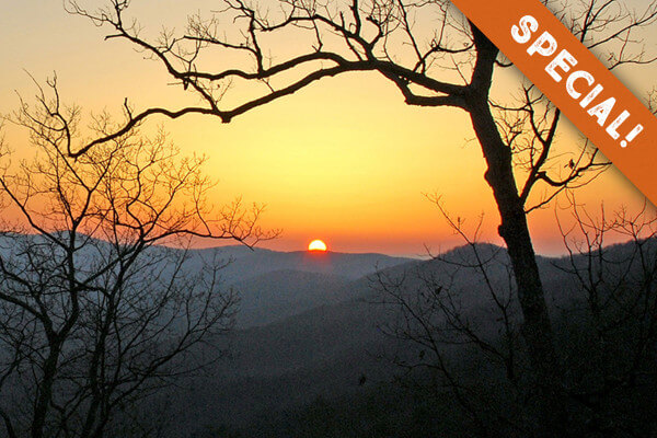 Amicalola Falls Adventure Lodge Packages and Promo specials Menu