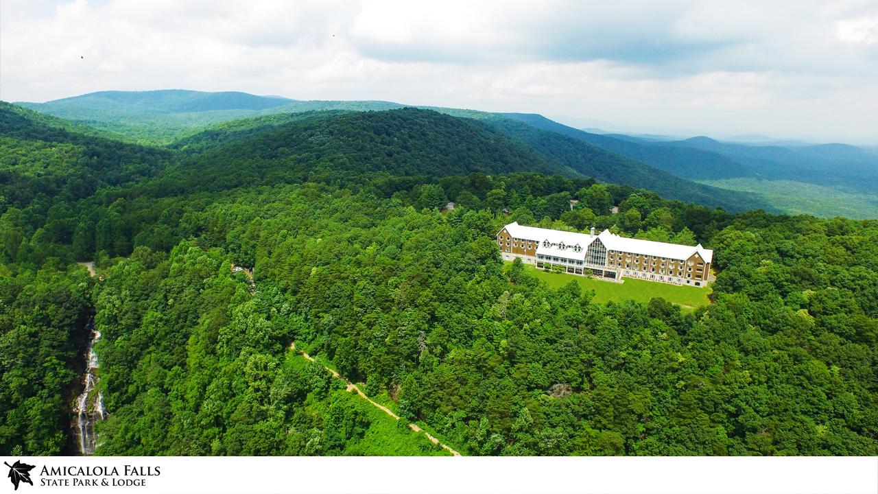 Amicalola Falls Lodge Zoom Background